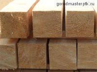 Брус 100х200х6000 мм деловой (1-3 сорт) е/в хв/п